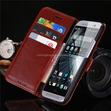 2017 New Luxury Vintage Wallet Stand Flip Case For HTC One M8 Retro Crazy Horse PU Leather Cover
