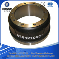 Casting Iron OEM Standard Customized Brake Drum for Truck Trailer