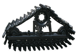 Track for combine harvesters, rice track, undercarriage, crawler
