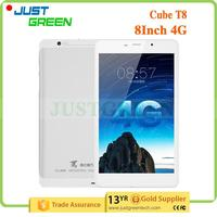 Brand New Cube T8 Plus 8 inch 2GB 16GB Android 5.1 Silver 4G rohs tablet android manual made in China