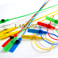 colorful high security locking plastic seal
