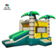 2018 hot bounce house bouncer castle inflatable with slide