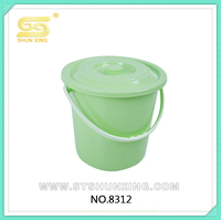 PP Plastic Buckets with Lid for water