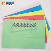 Colourful A4/FC Paper document wallet