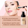 Halal Bottle Skin Whitening Liquid Foundation with Broad Spectrum Sunscreen