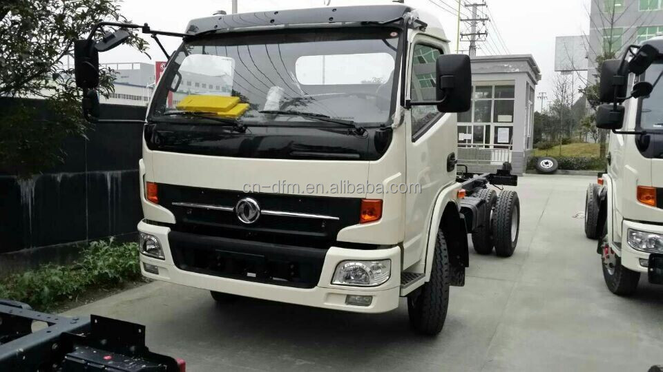 Dongfeng dump truck price 4X2 sand tipper garbage truck