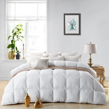 pure soft duck down comforter duvet inner for home and hotel at high quality