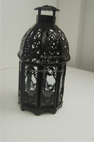 garden light, black Iron outdoor candle light