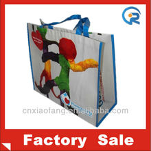 Wholesale matte laminated euro tote bags(RC-061013)