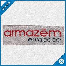 Custom Woven Label Clothing Labels For Garment Brand Fabric