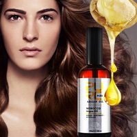 Organic moroccan argan oil to promote hair best nutrition to give healthy hair growth