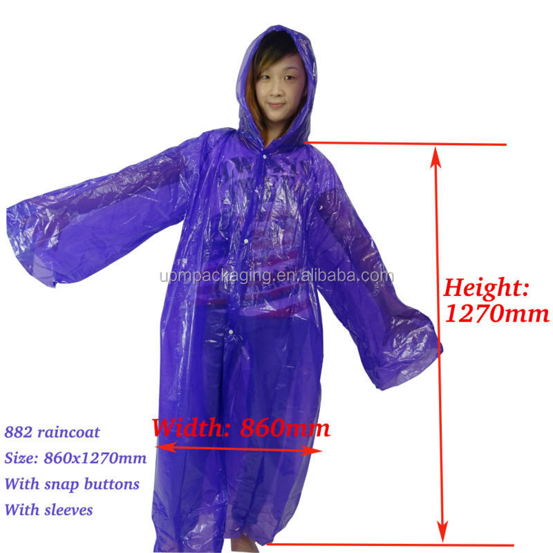 882 raincoat with dimension