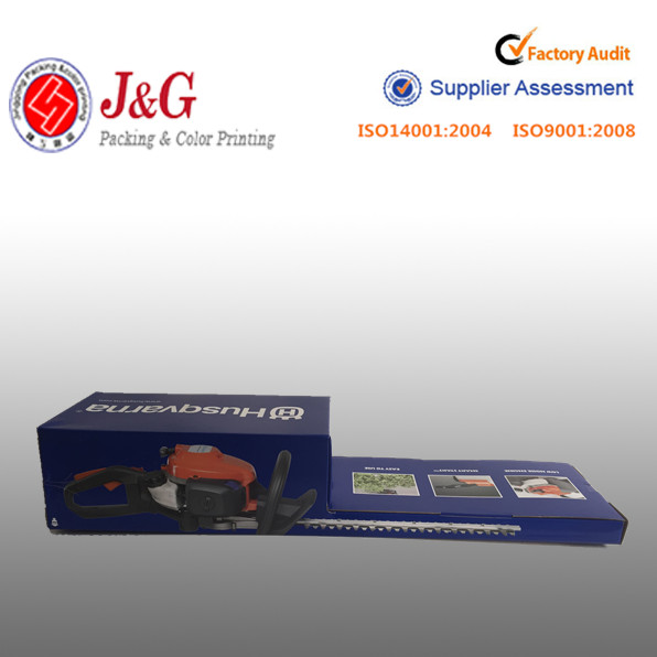 3-ply paper packaging box corrugated paper box for tool packaging with custom printing