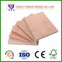 12mm 15mm 18 mm construction blockboard with rubber wood finger joint board for decoration furniture