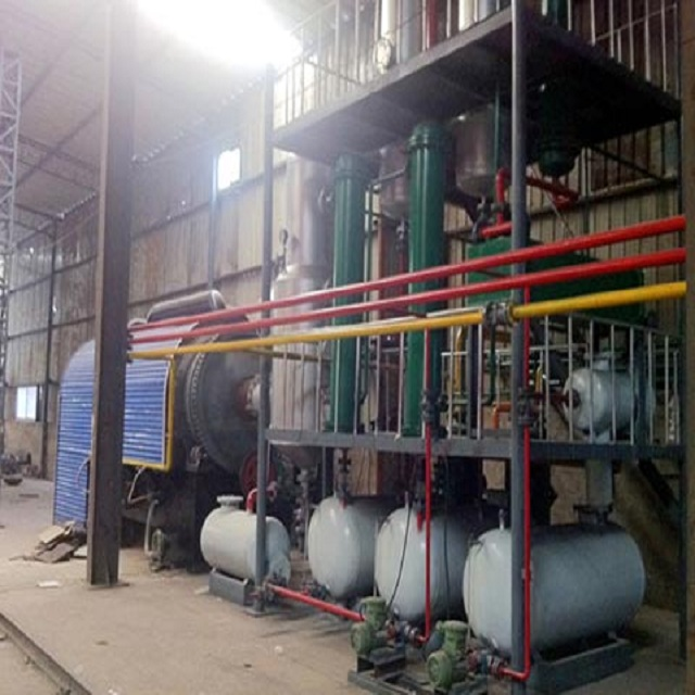20 ton high profitable automatic pyrolysis plant to fuel oil