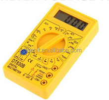 yellow DT-830B LCD Digital Multimeter ammeter meter OHM DVM