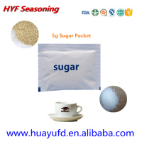 High Quality 4g White Sugar in Sachet for Tea or Coffeee or Airline Use