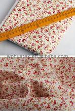 red and white flannel fabric