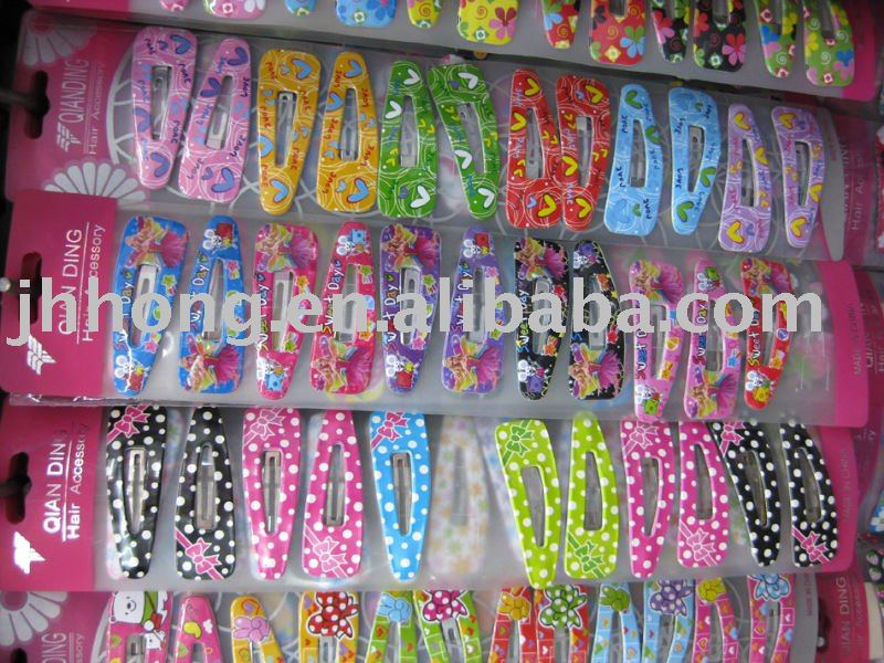 hair extension metal snap hair clips