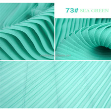 Hot sale cheap 75D 100% polyester pleated chiffon fabric