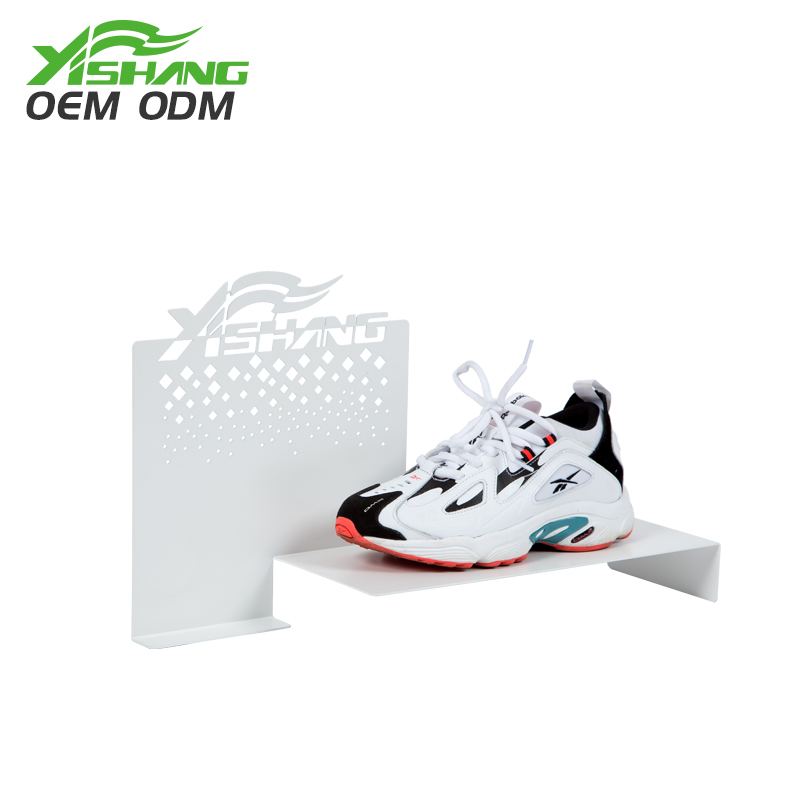Goods elegant durable OEM metal <strong>retail</strong> shoe metal shoe display fixtures stand