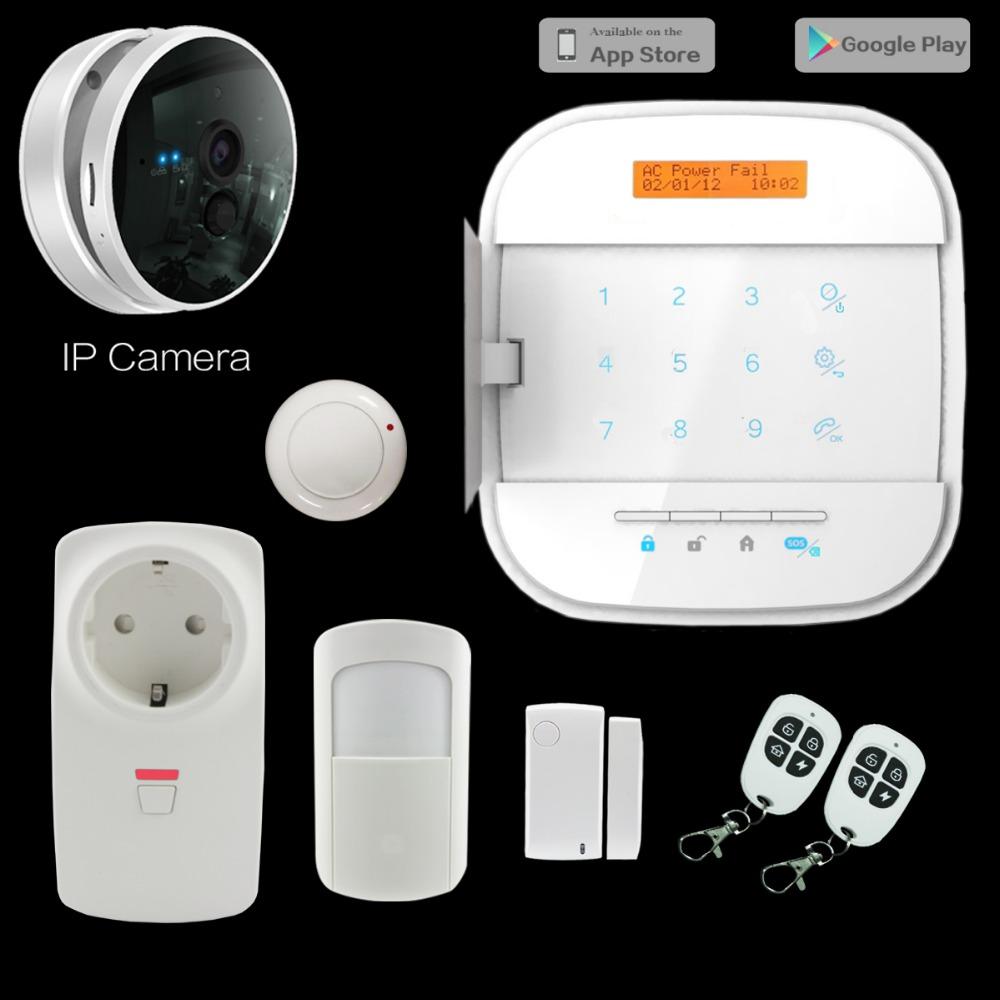 Wifi gsm gprs wireless smart home alarm system buy wifi for Smart home alarm system