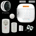 WIFI GSM GPRS wireless smart home alarm system