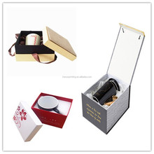 Personalized Paper Coffee Cup Box Eco-Friendly Mini Square Tea Cup Packing Box