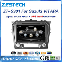 Factory car gps/dvd, CD player, 3G/10disc/accessories for Suzuki VITARA car dvd gps