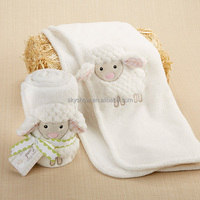 Baby Super Soft Thick Coral Fleece Sheep Baby Blanket