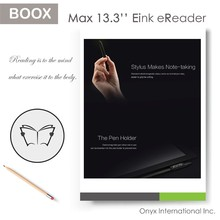 13.3 inch max carta largest eink flexible screen ebook reader for writing and reading