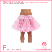 Pale Pink Ruffle Tulle Skirt