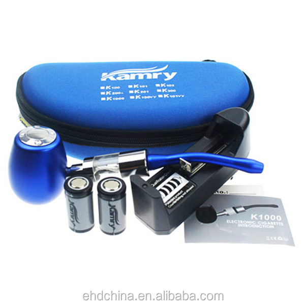 Colorful e cigarette Kamry vaporizer k1000 mod kit, wooden epipe in stock