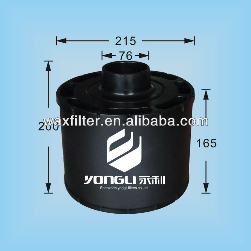 air filter element ECC085003 AH1138 for generator