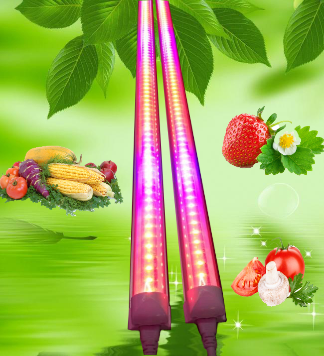 4ft 5ft 6ft 8ft 18W T8 grow light bar high quality commercial led plant grow lamp/bar/light