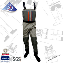 Pesca a mosca, breathable wader with 5-layer knee design, quality compared to Simms fishing waders!