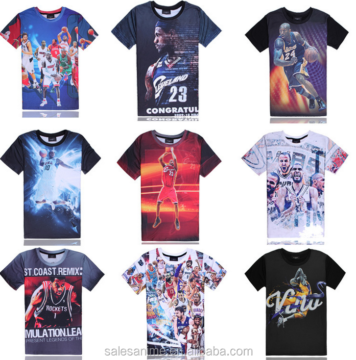 2016 custom wholesale china digital sublimation printing T shirt printing china