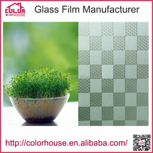 China OEM 3D printed decorative frosted window film