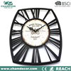 Antique finished skeleton metal Wall clock,skeleton metal popular wall clock