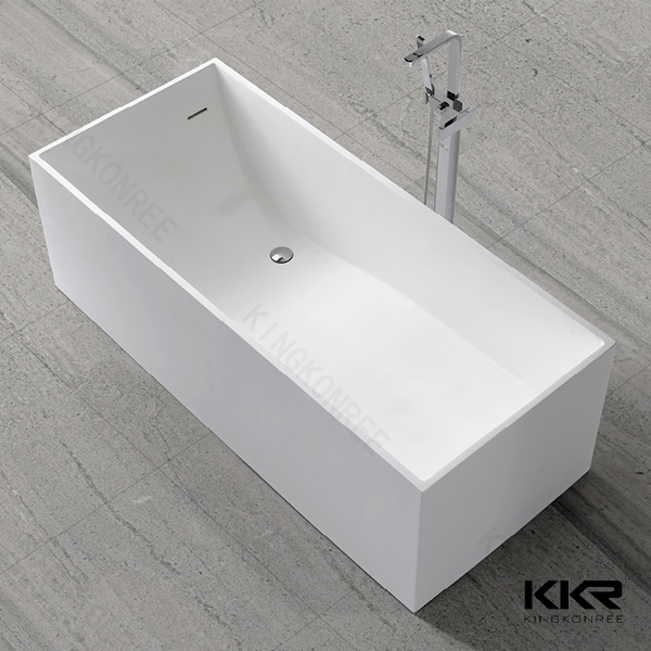 Formato speciale vasche da bagno sottile resina vasca - Vasca da bagno in pietra ...