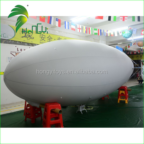 Hot Sale Inflatable Remote Control Helium Airship / RC blimp /RC Zeppelin