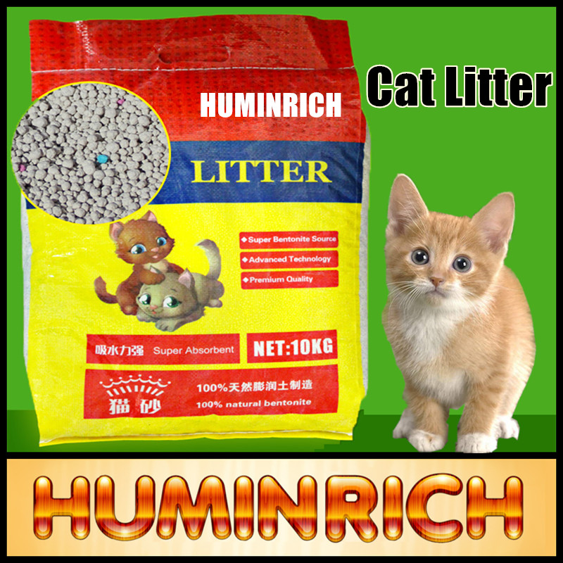 Huminrich Bentonite Pet Sand World Best Sale Cat Litter