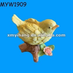small cute mini ceramic canary birds