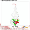 Decorative Hanging Glass Goldfish Bowl YGF1202B