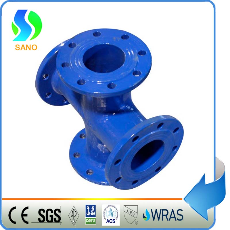 Ductile Iron Pipe Fitting All Flanged Cross