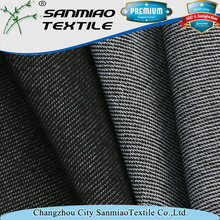 New design striped 30s knitted polyester cotton fabric for garments