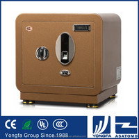 Hot selling 2015 high quality fireproof safe box original Italian design long-life burglary safes