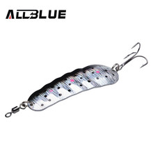 ALLBLUE <strong>Fishing</strong> <strong>Bait</strong> 21g 78mm Wobbler Spoon Lure Metal <strong>Baits</strong> Isca Artificial Hard Lures China Spinnerbait