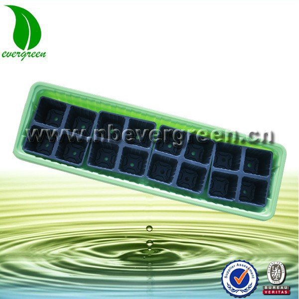 factory price colorful 16 holes Plastic seed tray for garden and home