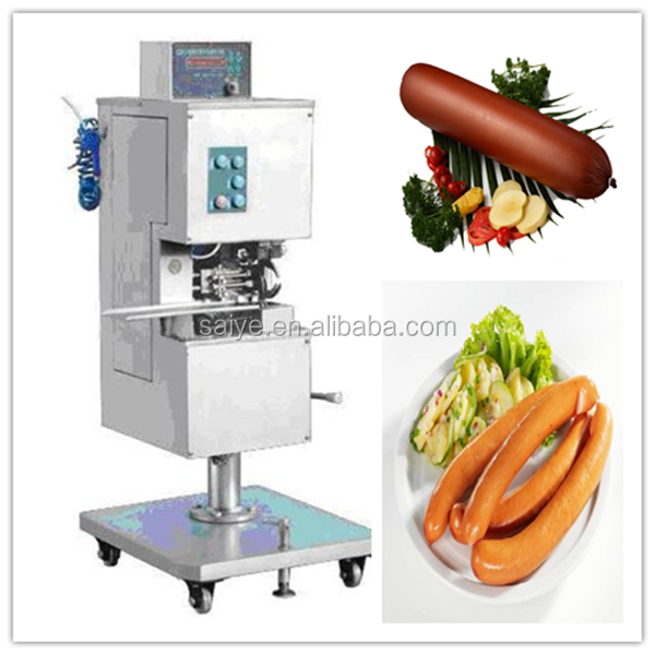 SZK-I Double sealing and clipping machine for sausage